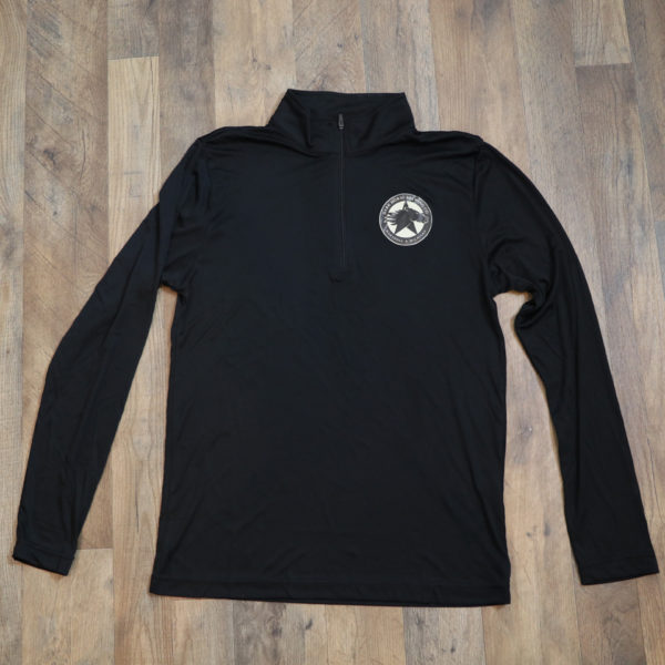 Dark Horse Logo 1/4 Zip Long Sleeve