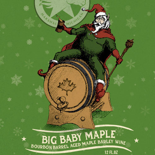 Big Baby Maple Bourbon Barrel AgBig Baby Maple Bourbon Barrel Aged Maple Barleywineed Maple Barleywine