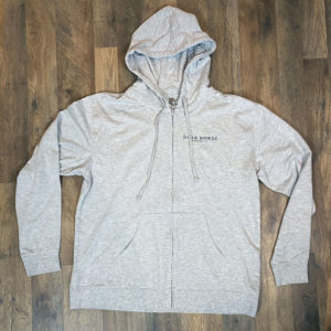 Full Zip Hoodie Heather Grey