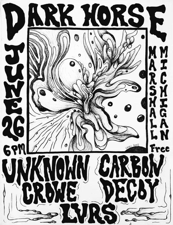 Unknown Crowe, Carbon Decoy & LVRS