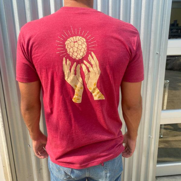 Raspberry ale t-shirt